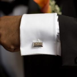 Cuff by Emma Thompson - Wedding Details ( wedding photography, jewellery, weddings, wedding, suit, groom, wedding details )