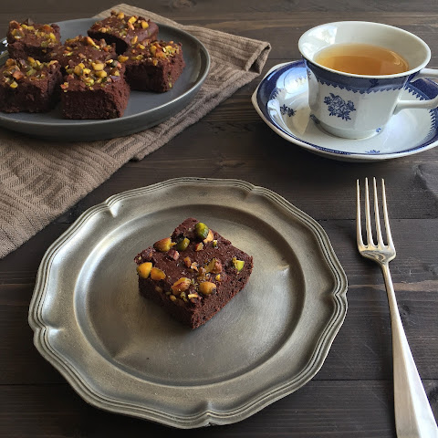 Beet and Chickpea Brownies (Gluten free)