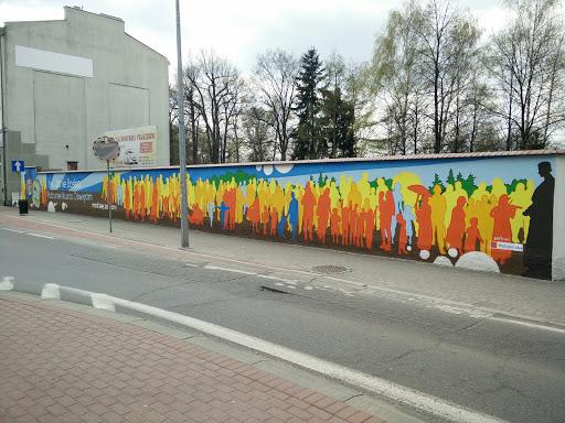 Fresque Bosko Auschwitz