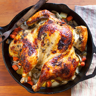 Roasted Herb Brined Chicken