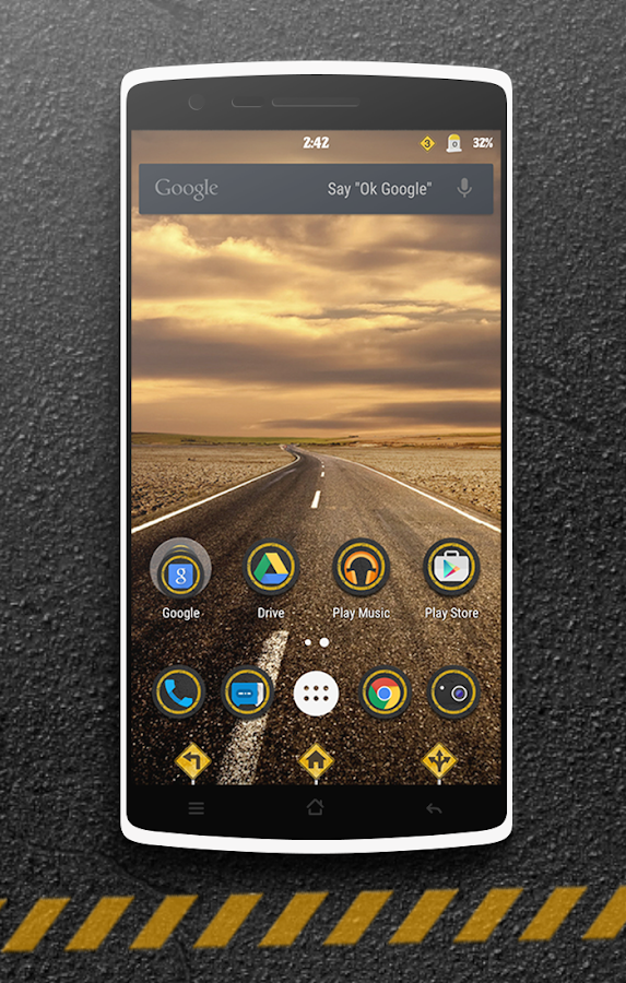 The Road CM13 CM12 DU Theme Screenshot 8