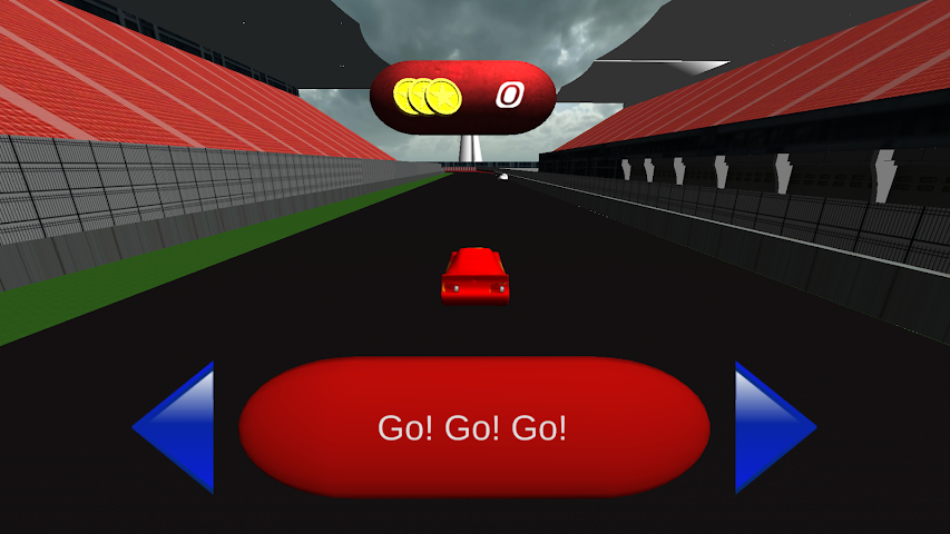 android Angel Mcqueen Racing Game Screenshot 1