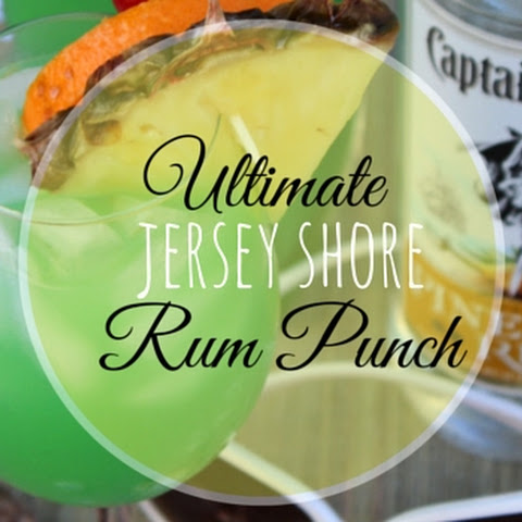 Ultimate Jersey Shore Rum Punch