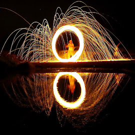 Fire work by Syed Adil - Abstract Fire & Fireworks