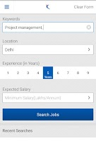 Screenshot of Naukri.com Job Search