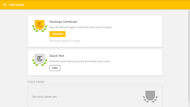 Duolingo English Test APK screenshot thumbnail 6