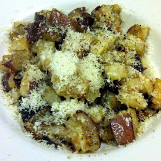 Roasted Eggplant with Extra Virgin Olive Oil and Parmigiano-Reggiano (Melanzane al Forno con Parmigiano-Reggiano)