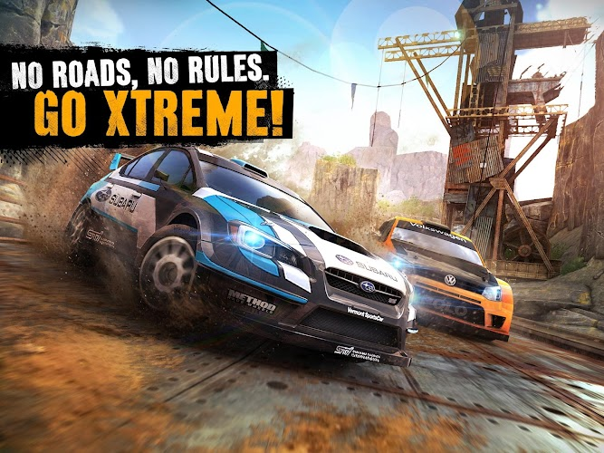 Asphalt Xtreme: Rally Racing Android App Screenshot