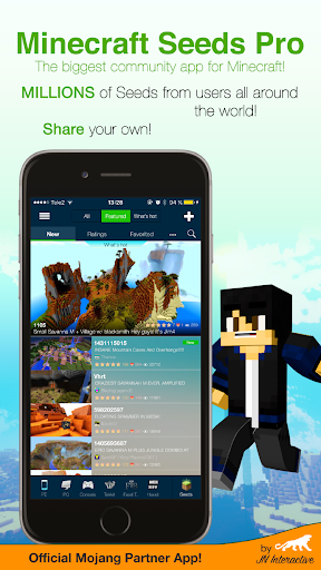 Minecraft Seeds Lite - screenshot