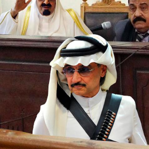 Prince Al-Waleed Sentenced to 36 Virgins