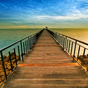 Long Way From Home by Alit  Apriyana - Landscapes Waterscapes ( travel, batam )