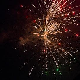 New Year by Henrik  Krogsgaard - Abstract Fire & Fireworks