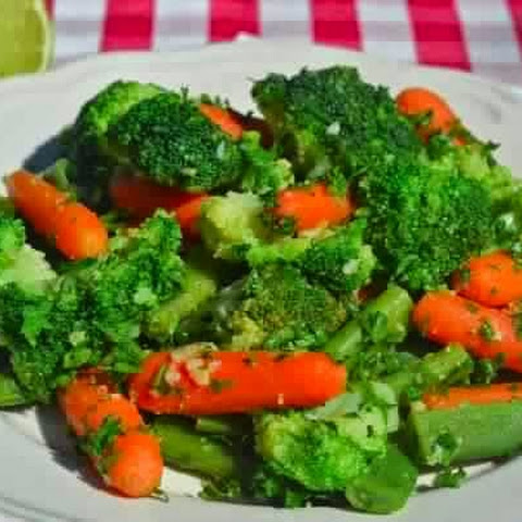 A Side Dish Of Broccoli