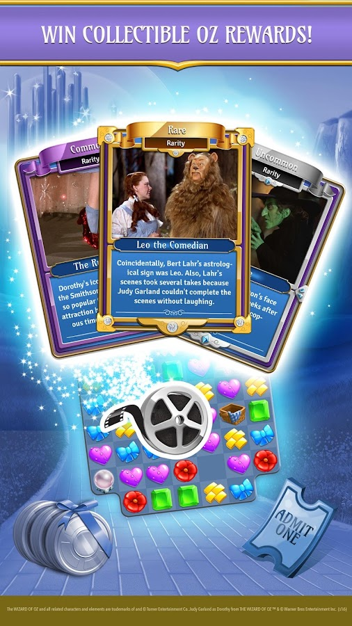 Wizard of Oz: Magic Match Screenshot 3
