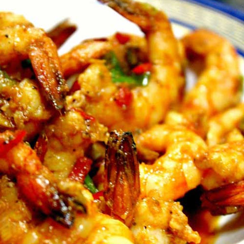 Stir Fried Sriracha Shrimp