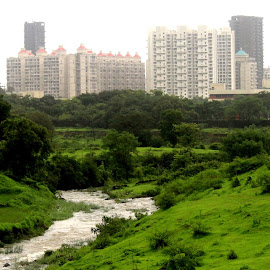 Silent Mumbai  by Bikash Ranjan Kalita - Landscapes Travel ( relax, tranquil, relaxing, tranquility )