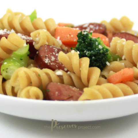 Kielbasa Rotini Supper