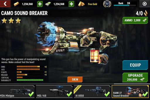 DEAD TARGET: FPS Zombie Apocalypse Survival Games screenshot 5