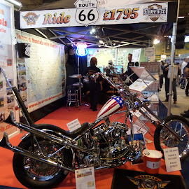 motorcycles by Angus Smith - Transportation Motorcycles