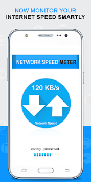 Network Speed Meter By CKR Software Solutions Pvt. Ltd APK screenshot thumbnail 1