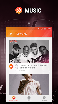 Hi Music - Free Music Player & YouTube Music APK screenshot thumbnail 4