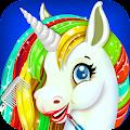 Free Rainbow Unicorn Makeover Salon APK for Windows 8