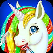 Free Download Rainbow Unicorn Makeover Salon APK for Samsung