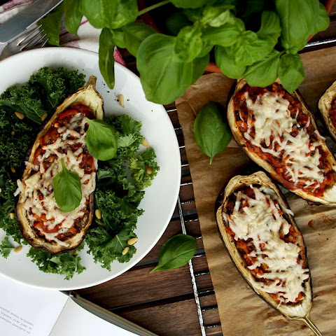 French Stuffed Eggplants