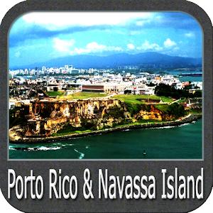 Cover art Porto Rico & Navasa Island Gps