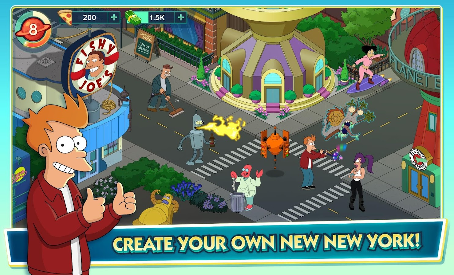 Futurama: Worlds of Tomorrow Screenshot 8