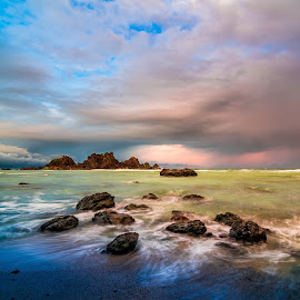 Dela Torre Beach, Baler, Aurora, Philippines by Jerry ME Tanigue - Landscapes Waterscapes