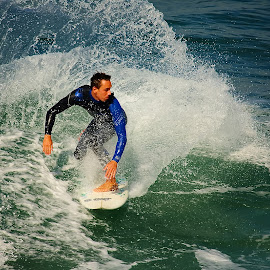 La gerbe by Gérard CHATENET - Sports & Fitness Surfing