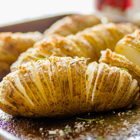 Sliced and Roasted Potatoes