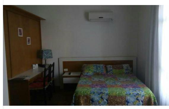 Flat com 1 dormitório à venda, 30 m² por R$ 125.000 - Itararé - São Vicente/SP