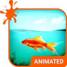 Golden Fish Animated Keyboard