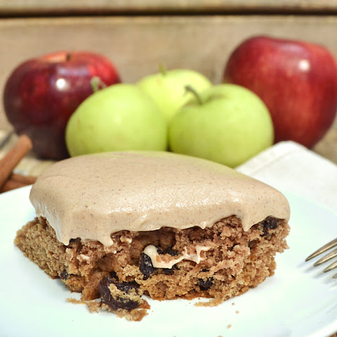 PA Dutch Applesauce Cake with Cream Cheese Apple Butter Frosting