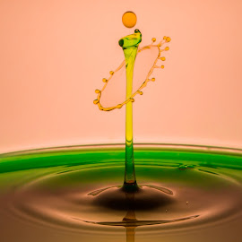 Waterdroplet by Domingo Washington - Abstract Water Drops & Splashes ( waterdroplet )