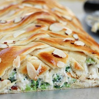 Chicken Broccoli Braid