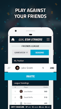 Goal Star Strikers APK screenshot thumbnail 4