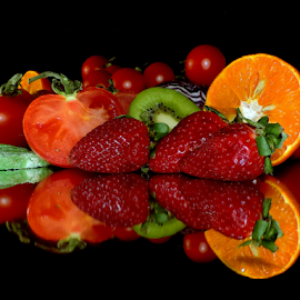 fruits with candy by LADOCKi Elvira - Food & Drink Fruits & Vegetables ( fruits, strawberry )