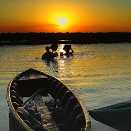 by Pepy Nemlikur Bhe - Transportation Boats