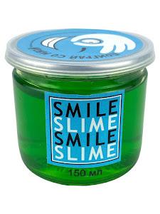 Слайм-лизун Зеленое стекло, 150 мл.