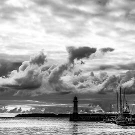 Cloud Cenery by Imbaud Vrh - Landscapes Cloud Formations ( port, sky, cloud, iv movies,  )