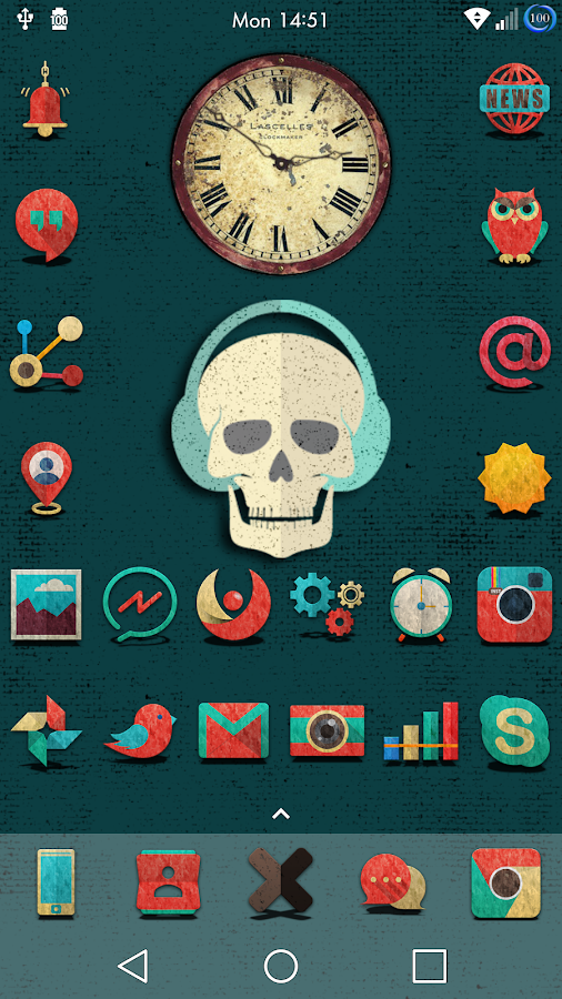 Retron-UI Icon Pack Screenshot 4