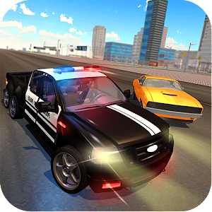 Download 6x6 Police Truck Vegas City Gangster Chase for PC