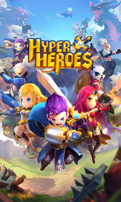 Hyper Heroes Screenshot 0