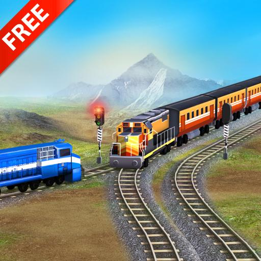 Train Racing Games 3D 2 Player (game)
