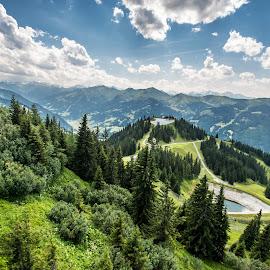 Amazing World  by Linda Brueckmann - Landscapes Mountains & Hills