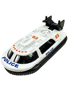 """Машинка """"МИР МАШИНОК"""" 1:64 """"POLICE"""" Амфибия"""