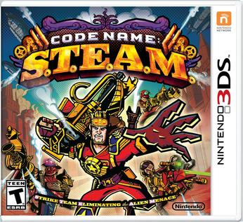 Code Name: S.T.E.A.M. - box art